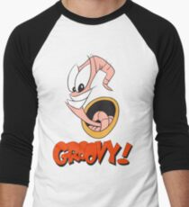 Earthworm Jim v2 Men's Baseball ¾ T-Shirt