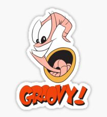 Earthworm Jim v2 Sticker