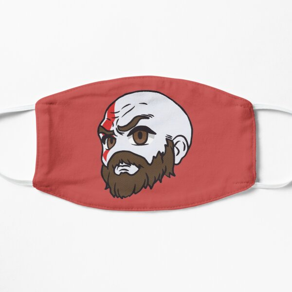 Kratos Face Masks Redbubble