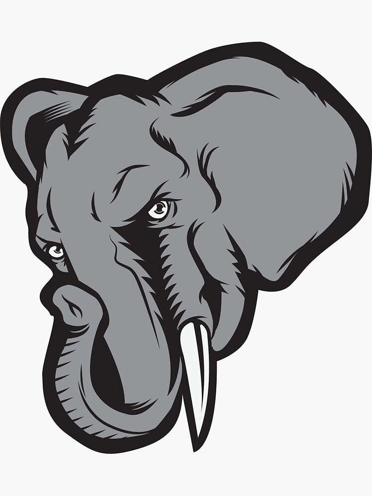 ANGRY ELEPHANT by OrganicGraphic