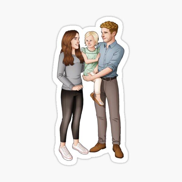 Fitzsimmons - Season 7 Sticker