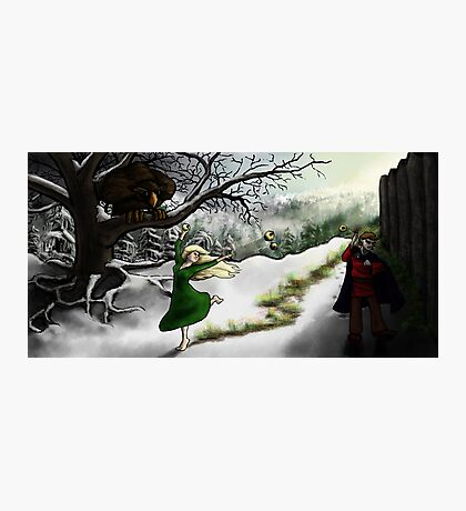 Idunn and Loki: Midwinter Meander Photographic Print