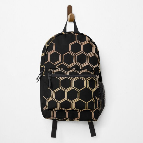 Honeycomb Artwork Backpack