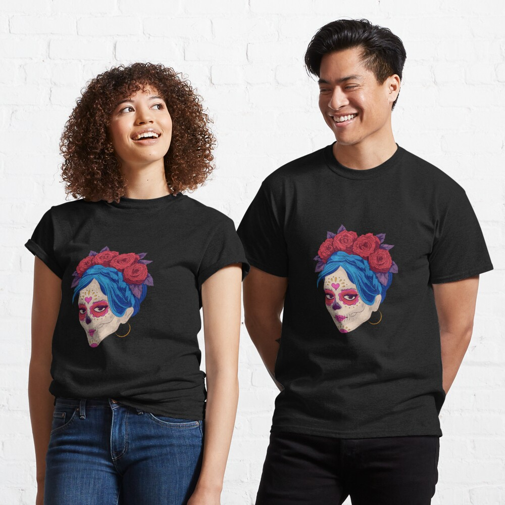 Day of the Dead Makeup Classic T-Shirt