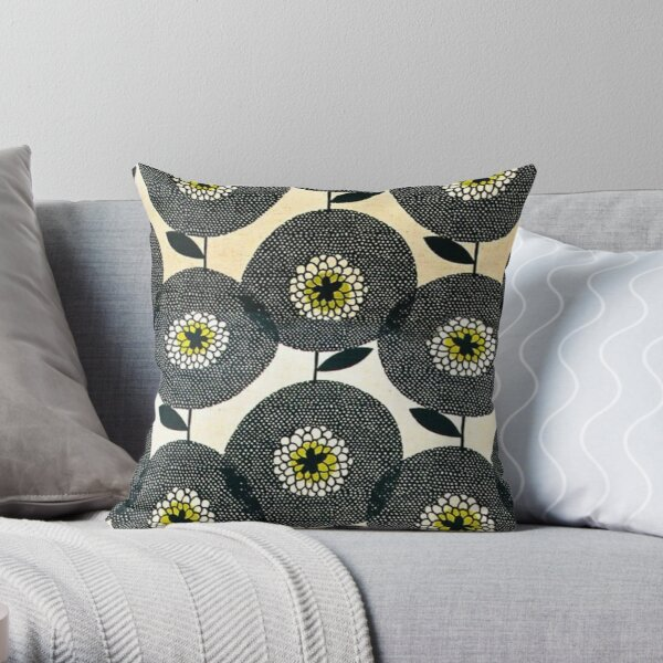 Marimekko design Throw Pillow