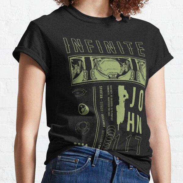 Halo Infinite Master Chief Aesthetic Classic T-Shirt