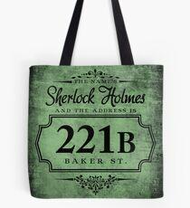 The name's Sherlock Holmes Tote Bag