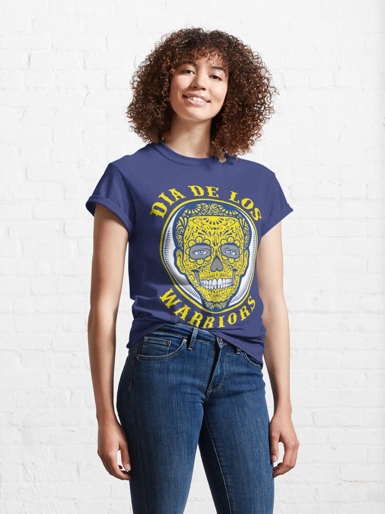 Alternate view of Dia De Los Warriors Steph Curry Classic T-Shirt