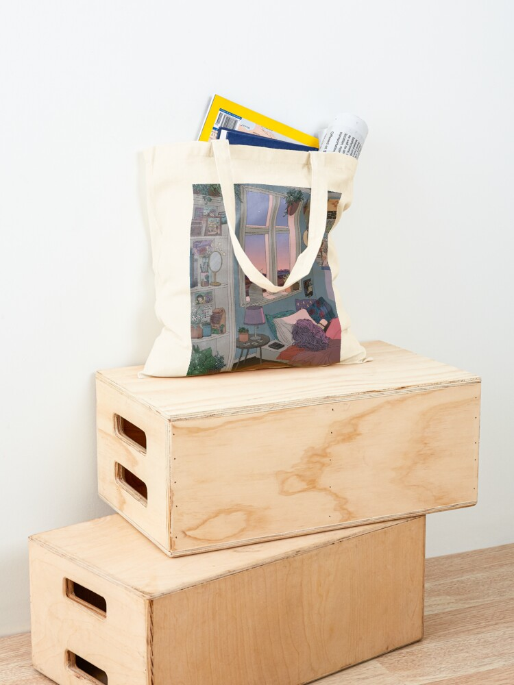 Alternate view of Early Morning Tote Bag