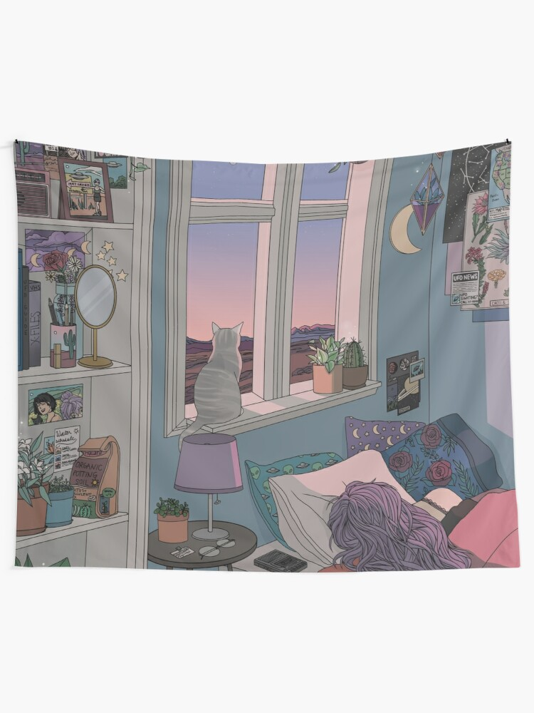 Alternate view of Early Morning Tapestry