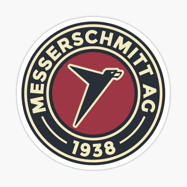 Messerschmitt AG - Custom Round Vintage Logo Sticker