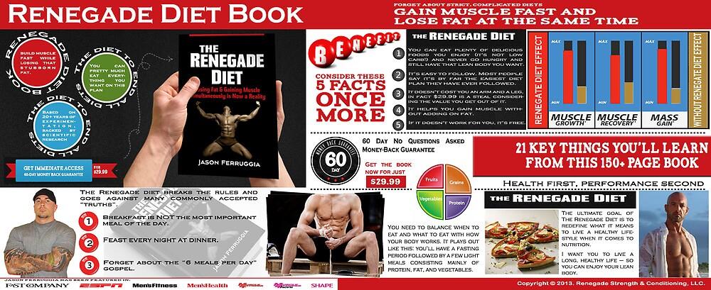 Renegade Diet Book by RenegadeDiet