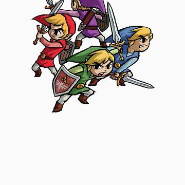 4 Swords by Hyruler