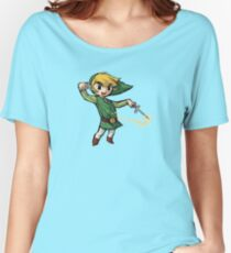 Link wind Women's Relaxed Fit T-Shirt
