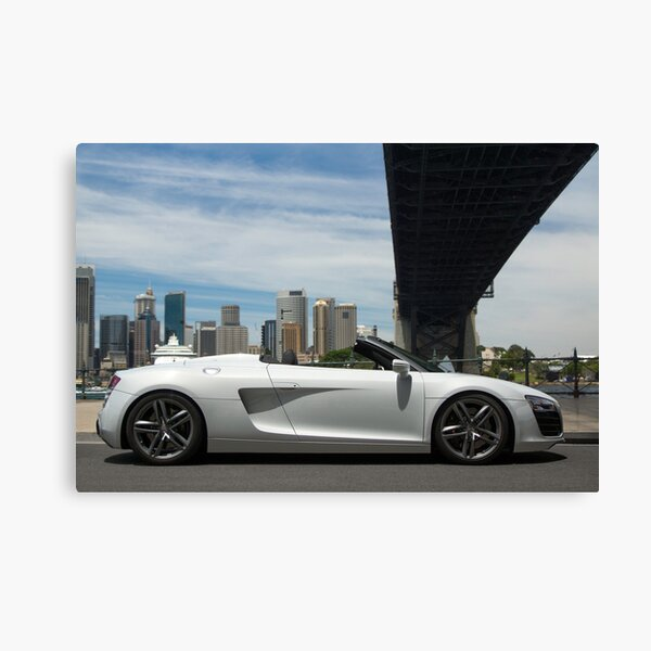 Audi R8 2013 Canvas Print