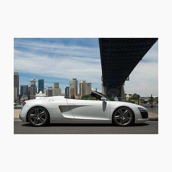 Audi R8 2013 Photographic Print