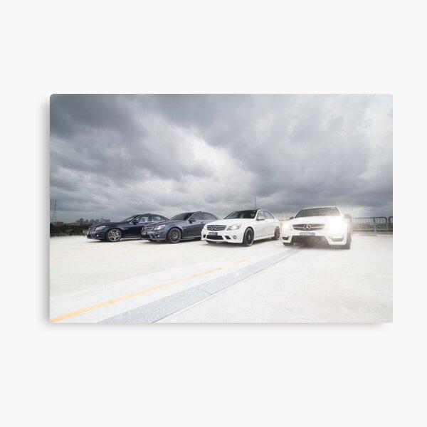 Mercedes C 63 AMG Canvas Print