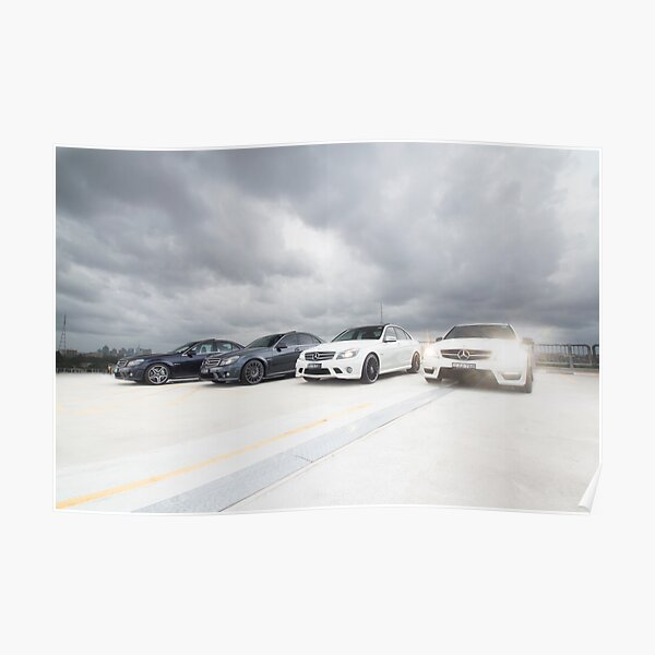 Mercedes C 63 AMG Poster