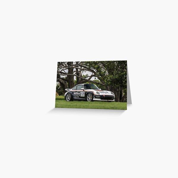 Porsche 993 Turbo S Greeting Card