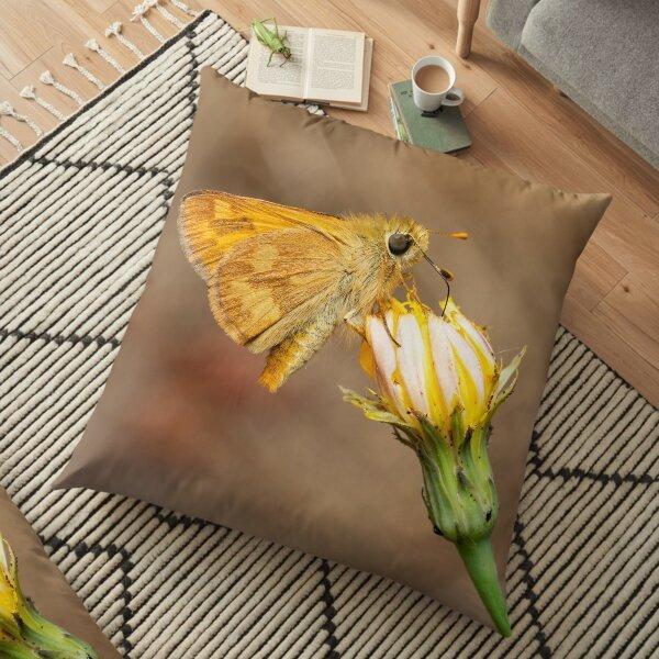 Woodland  Skipper Butterfly Floor Pillow