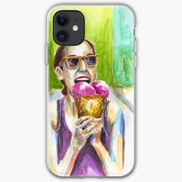 I Love Ice Cream iPhone Soft Case