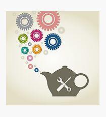 Industrial teapot Photographic Print