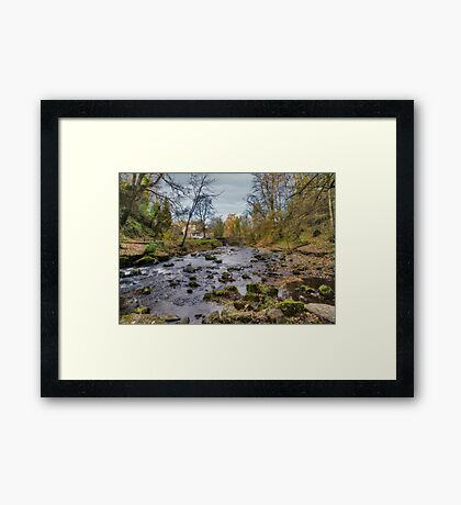 West Burton Bridge Framed Print