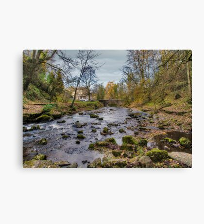 West Burton Bridge Canvas Print
