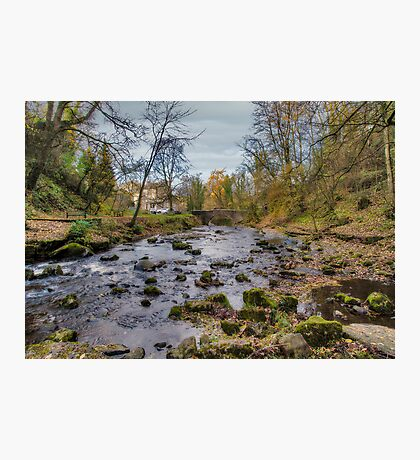 West Burton Bridge Photographic Print
