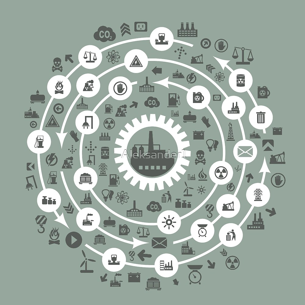 Industry a circle by Aleksander1