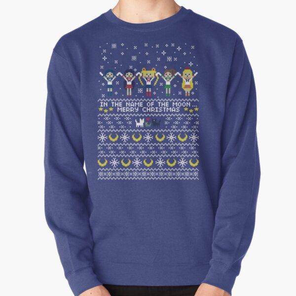 Au nom de la lune .. Joyeux Noël! Sweatshirt épais