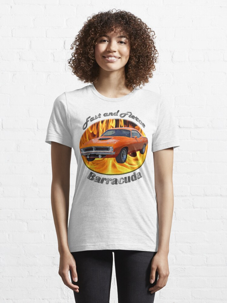 Alternate view of Plymouth Barracuda Fast and Fierce Essential T-Shirt
