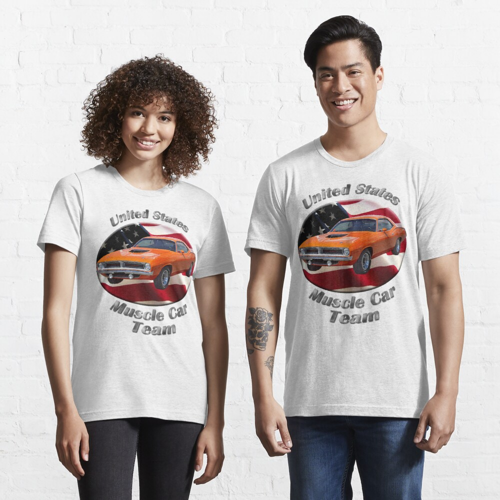 Plymouth Barracuda Muscle Car Team Essential T-Shirt