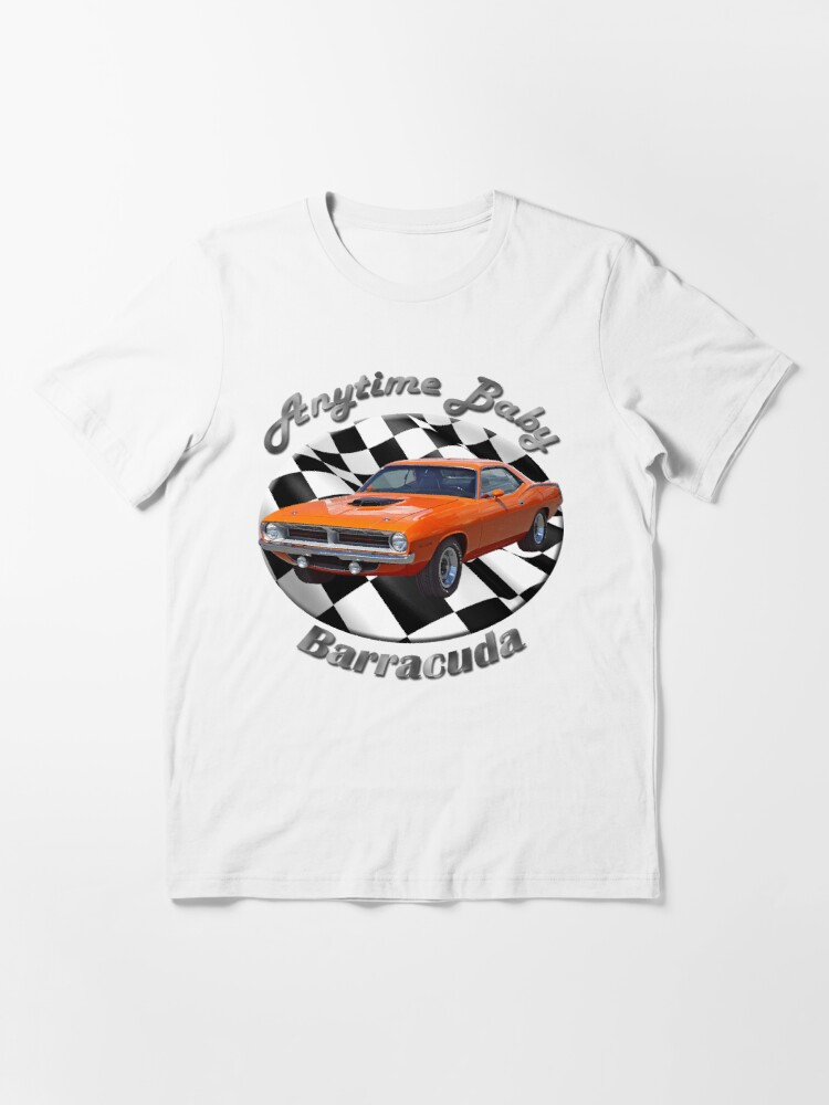 Alternate view of Plymouth Barracuda Anytime Baby Essential T-Shirt