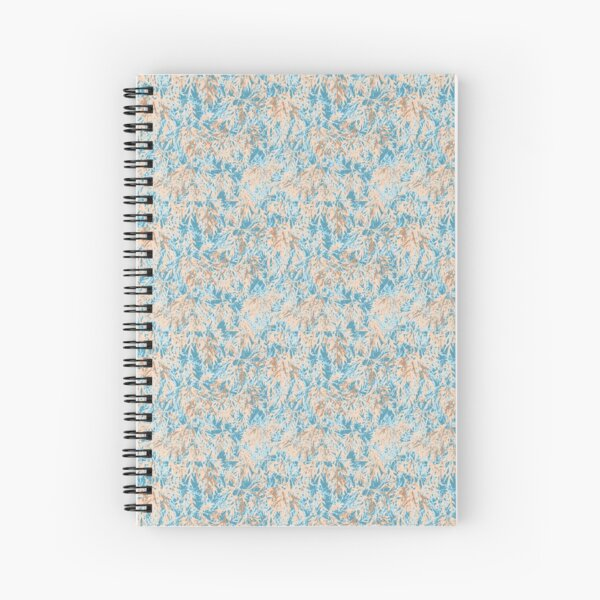 Digital Japanese Maple Spiral Notebook