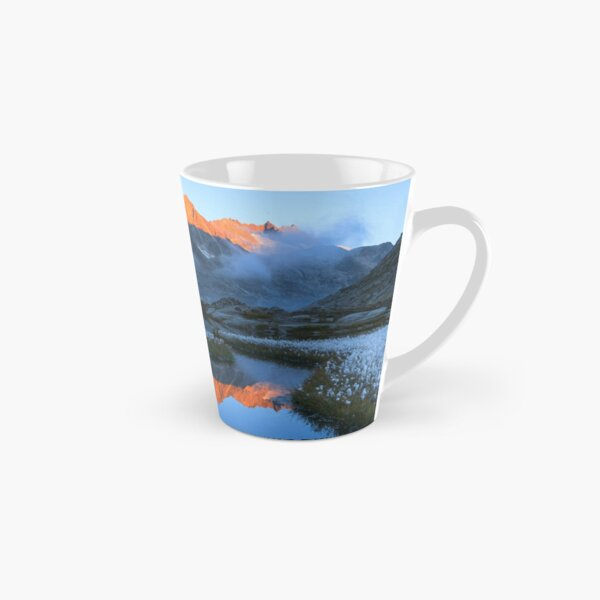 Landscape in Alps Mountains, the magical Alps with its mountains, glaciers and lakes	 Tall Mug