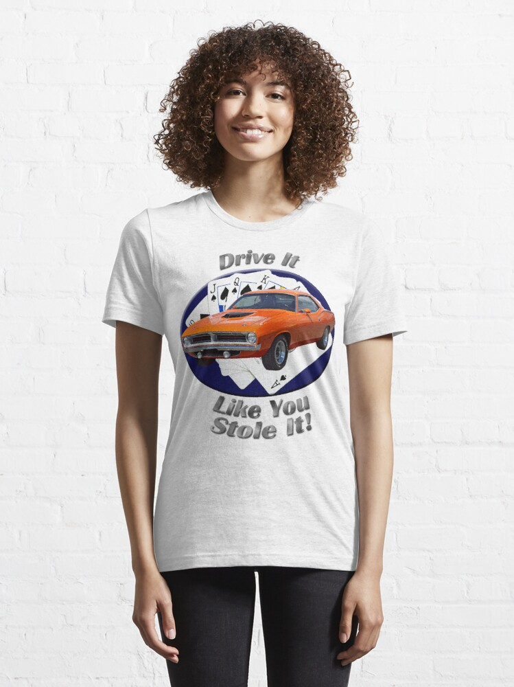Alternate view of Plymouth Barracuda Drive It Like You Stole It Essential T-Shirt