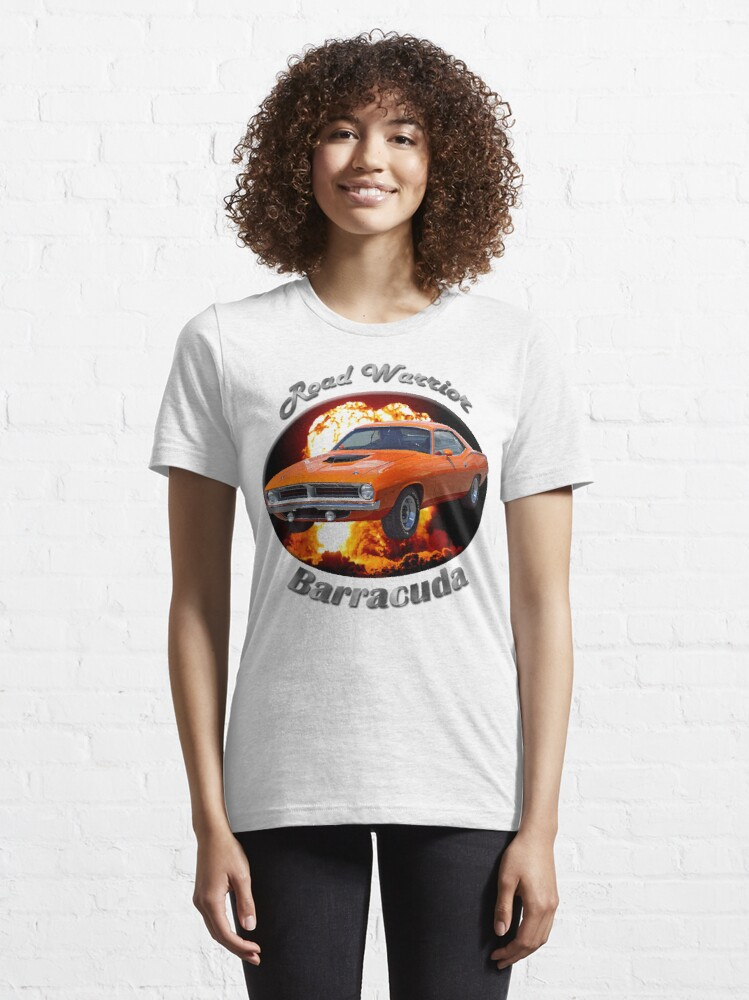 Alternate view of Plymouth Barracuda Road Warrior Essential T-Shirt