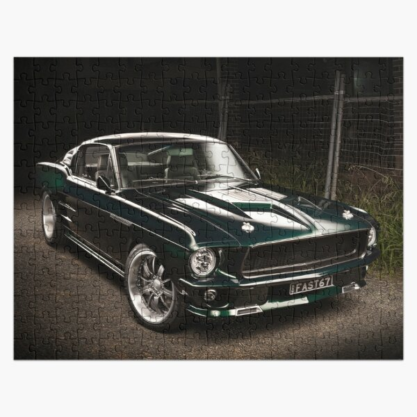 Andrew's 1967 Ford Mustang Fastback Jigsaw Puzzle