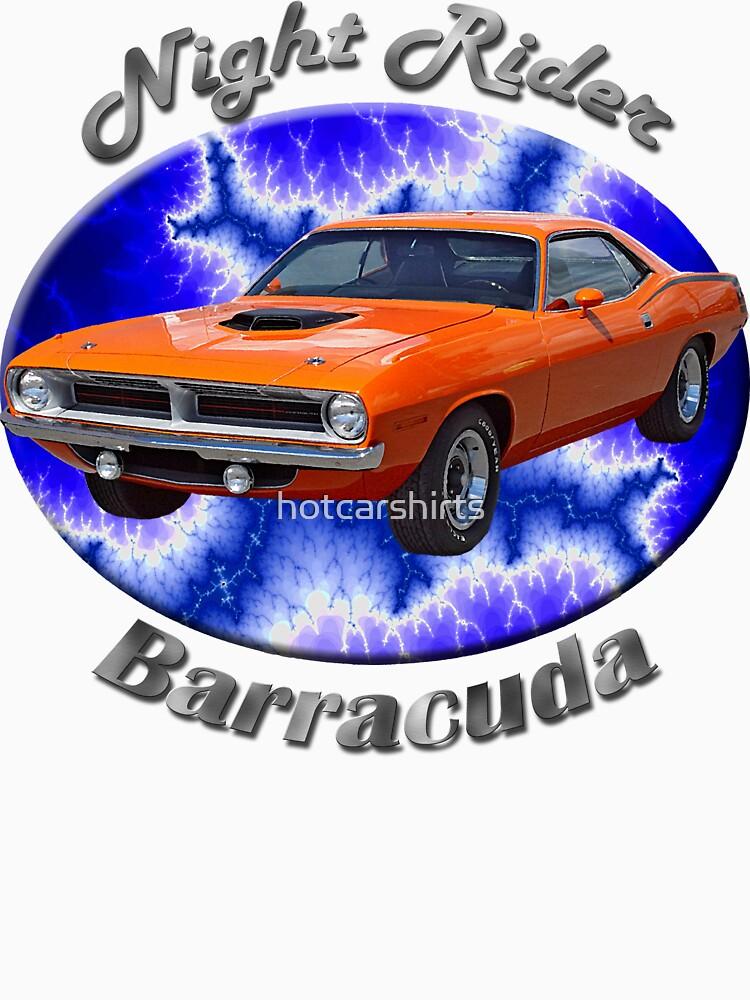 Plymouth Barracuda Night Rider by hotcarshirts