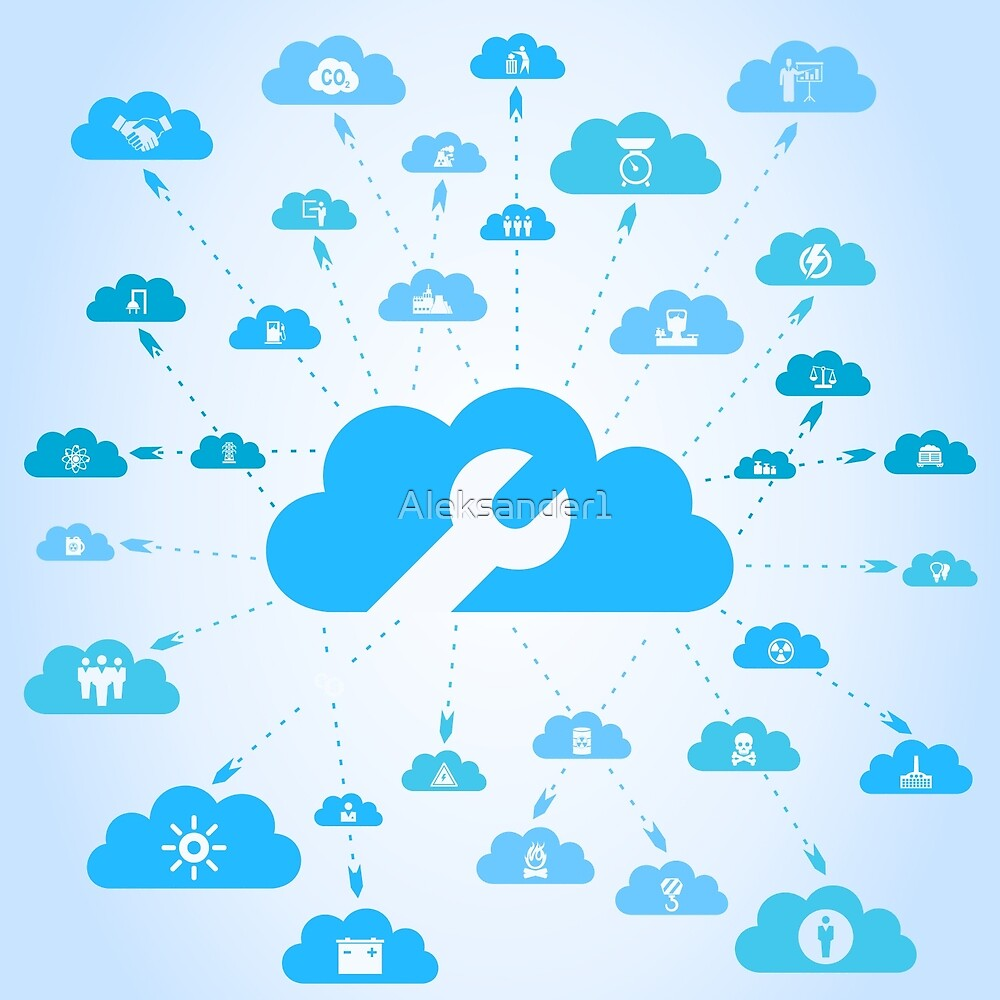 Industry a cloud by Aleksander1