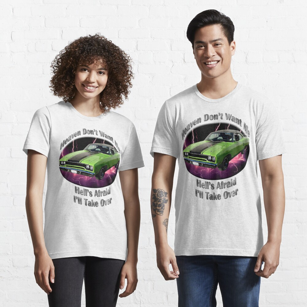 Plymouth Roadrunner Heaven Don't Want Me Essential T-Shirt