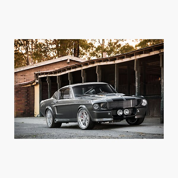'Eleanor'-inspired Mustang Fastback Photographic Print