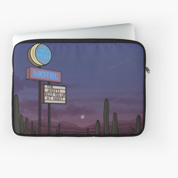 Ghost Motel Laptop Sleeve