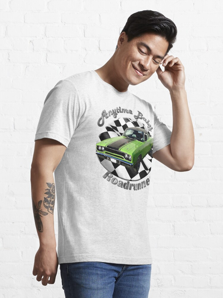 Alternate view of Plymouth Roadrunner Anytime Baby Essential T-Shirt
