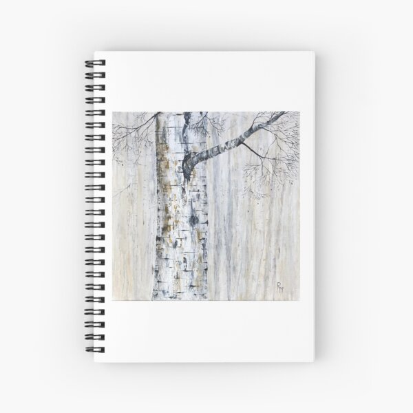 Through The Mist by RochelleMc Spiral Notebook