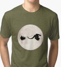 Strange Santa Claus Tri-blend T-Shirt