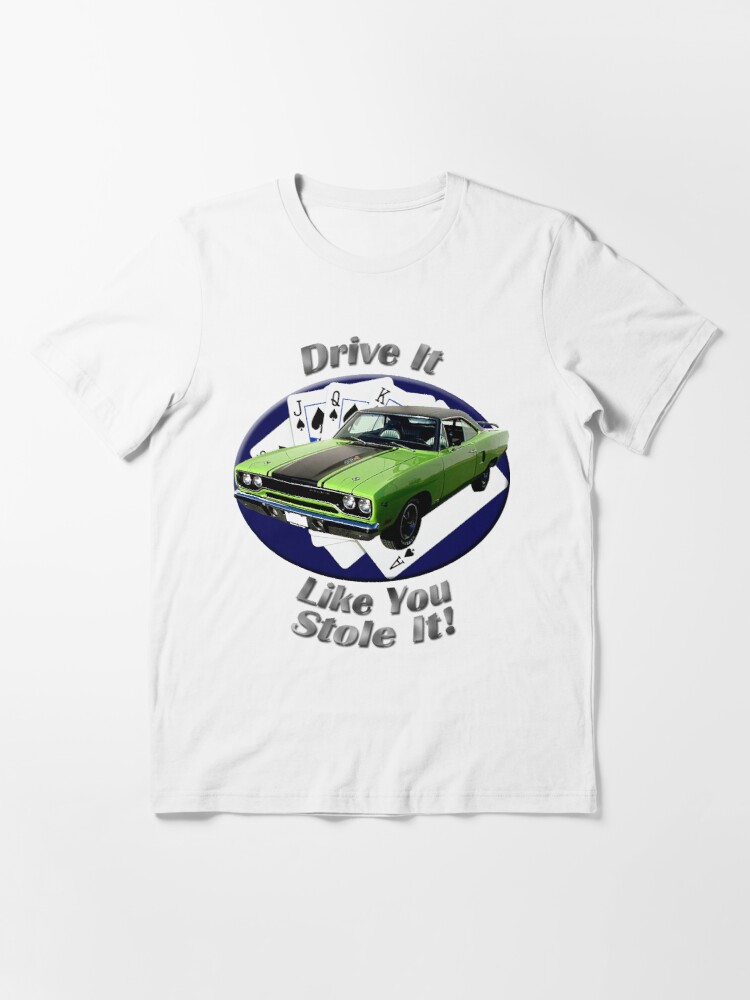 Alternate view of Plymouth Roadrunner Drive It Like You Stole It Essential T-Shirt
