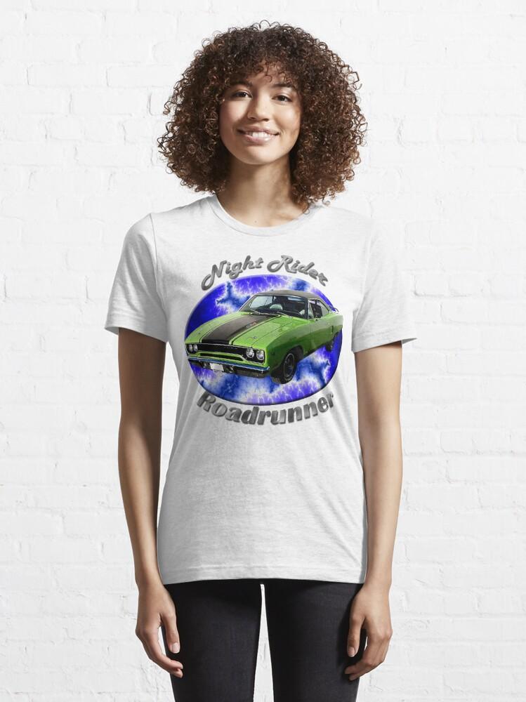 Alternate view of Plymouth Roadrunner Night Rider Essential T-Shirt