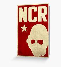 New California Republic Ranger Greeting Card